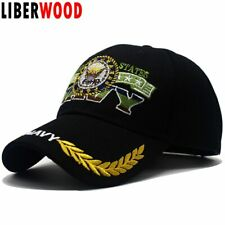 AKIZON U.s.a. NAVY hat with Olive Embroidered baseball cap hat native delight...