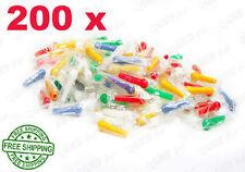 200 X COLORED HOOKAH HOSE MOUTH MALE TIPS SHEESHA SHISHA NARGILA NARGHILE PIPE