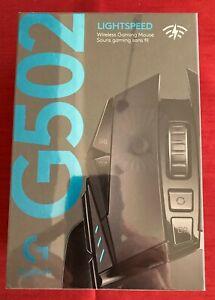 *NEW* Logitech G502 Lightspeed WIRELESS 25.6K Optical Gaming Mouse RGB 11-Button