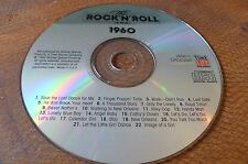 CD TIME LIFE 1960 ROCK N ROLL ERA 1992 DRIFTERS VENTURES ORBISON LEE FATS SADAKA