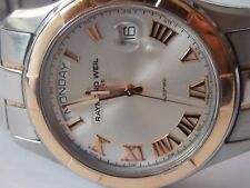 Raymond Weil Gents Parsifal Automatic 2965-SG5--00658 Steel and 18ct Rose Gold