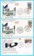 B3055 - FRANCE - 5 Enveloppes 1er Jour de 1957