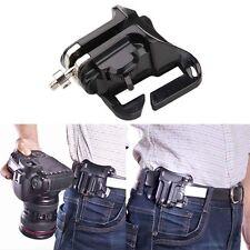 Fast Strong Hanger Waist Belt Buckle Loading Button Dslr Clip Mount Camera Grip
