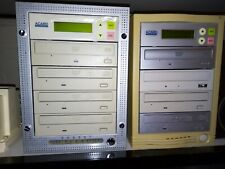 More details for two acard 1 to 3 dvd/cd duplicators. untested.