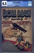 Doll Man Quarterly #3 CGC 4.5 Guardineer, Mickey Finn, Poison Ivy, The Dragon