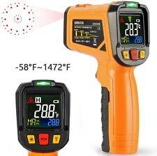 Thermomètre Infrarouge Laser Temperature Interieur -50℃ à 550℃ (Pas pour Homme)