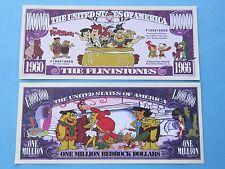 The FLINTSTONES Cartoon, Fred, Bam-Bam, Pebbles >< $1,000,000 One Million Dollar