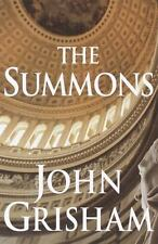 The Summons by John Grisham (2002, Hardcover) FIRST EDITION EXCELLENT