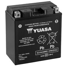 SUZUKI VLR1800 M109R 06-13 YUASA BATTERY YTX20CH-BS YTX20CHBS