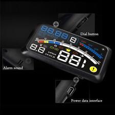 Black Universal GPS HUD Head Up Display MPH/KM/h Speed Limit Warning Plug & Play