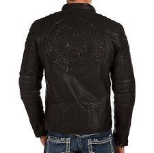 NWT Affliction Men's Leather The Movement J Bike Jacket Sz XL