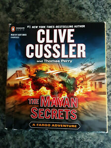 Audio Books Cd Unabridged. Clive Cussler ..The Mayan Secrets