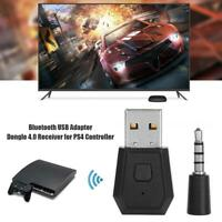 Mini USB Headset Bluetooth 4.0 Adapter Dongle Receiver for PS4 Controller