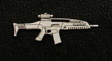 Empire Pewter XM8 Tactical Rifle Gun Pin