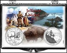 Jefferson/Reverse Design 2005, 2X3 Snap Lock Coin Holders, 3 pack