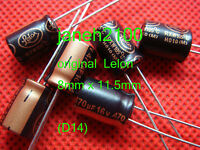 20pcs 470uF 16V Lelon Radial Electrolytic Capacitor 8x11.5MM 105C