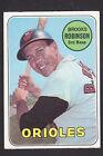1969 Topps #550 Brooks Robinson HOF Baltimore Orioles baseball card