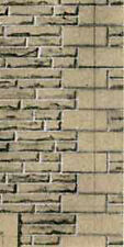 Superquick D10 Grey Sandstone Printed Building Paper 6 x 260mm x 195mm 00 Gauge