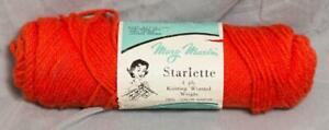 Vintage Mary Maxim Starlette Worsted Weight Yarn g50