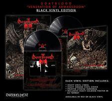 Goatblood-veneration of Armageddon + poster, Black Edition (GER), LP