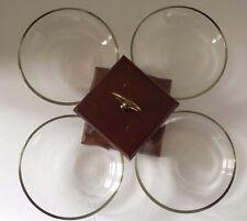 "Mid Century Modern Circle Glass and Wood Lazy Susan 12 1/2"" x 12 1/2"""