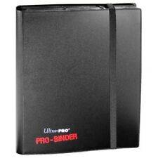 Black Pro Binder [NEW] Trading Playing Gaming Card Holder Ultra Pro 9/Page
