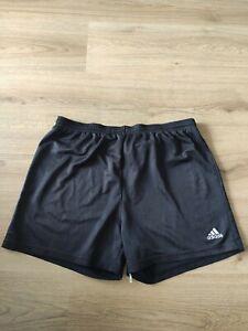 ADIDAS Herren Shorts Kurze Hose retro Sport vintage schwarz Gr. L