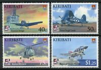 Kiribati Stamps 2009 MNH Naval Aviation 100th Anniv Helicopters Ships 4v Set