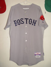 Team issued / Game Worn/used 2009 Jacoby Ellsbury Red Sox Rd gray jersey Sz 44