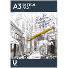 A3 A4 A5 Sketch Pad Book White Paper Artist Sketching Drawing Doodling Art Craft