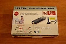 Belkin Wireless G USB  Network Adapter VGC