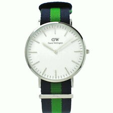 Daniel Wellington Men's Watch Blue Green - Warwick SILVER - 0205DW