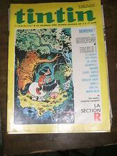 Tintin Hebdomadaire N° 1232 1972 Goulvenn et Folklo Ric Hochet Benjamin Arabelle