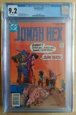 DC COMICS Jonah Hex #9 CGC 9.2 WHITE PAGES, PRISTINE SLAB! FREE SHIPPING