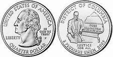 2009 P District of Columbia DC & Territories Quarter Brilliant Uncirculated Coin