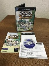 Nintendo Gamecube Harvest Moon A Wonderful Life CIB Complete