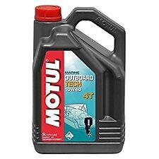 MOTUL OUTBOARD TECH 4T 10W-40 OLIO MOTORE NMMA FC-W FUORIBORDO BARCA NAVI 5 LT