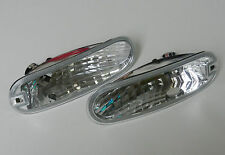 VW NEW BEETLE 98 - 05 CRYSTAL CLEAR FRONT INDICATOR REPEATER LIGHTS LEFT + RIGHT