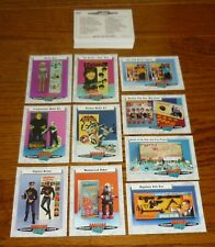 Complete set of 66 Classic Toys Trading Cards, Batman, James Bond 007, Monkees