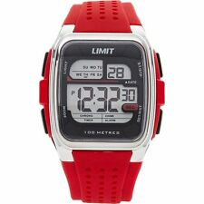 LIMIT Red Digital Wrist Watch - New and Boxed