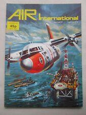 AIR INTERNATIONAL 12/76 MPA VICTOR K2 IRAN 707 TANKER MONOCOUPE FIESELER STORCH
