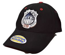 Edmonton Oilers Ccm Youth 1 Fit 25th Anniversary Cap Hat