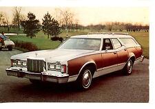 1977 Cougar Villager Station Wagon Car-Vintage Auto Advertising Dealer Postcard