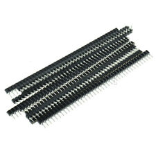 30Pcs 40pin Single Row Round Strip Tin PCB Female IC Breakable Header Socket
