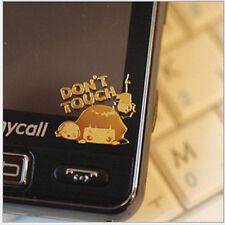 Beauty 10pcs Cartoon Anti-radiation 24k Gold-plated Mobile Phone Camera Sticker