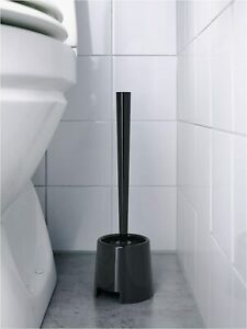 IKEA BOLMEN Toilet Brush/Holder, BLACK OR WHITE WILL BE PICKED RANDOMLY