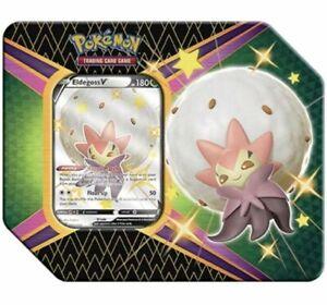 Pokemon TCG Shining Fates Tin! ELDEGOSS V! Factory Sealed NEW