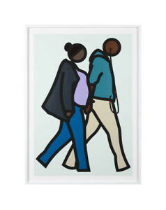 """JULIAN OPIE """"NEW YORK COUPLE 6"""" 2019 