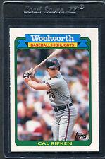 1990 Topps Woolworth Cal Ripken #19 Mint