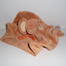 Doudou Eléphant Bengy - Orange